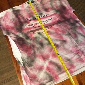 Nautica Shirts - Vintage 1996 Embroidered Nautica T-shirt XL